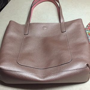 Handbags - Rose gold tote